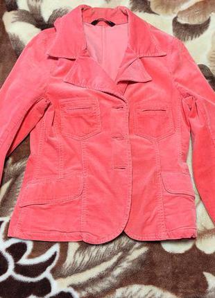 Красивый пиджак велюровый бархатный