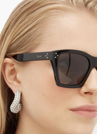 Celine солнцезащитные очки cl400901 с поляризацией черные оригинал базовые
