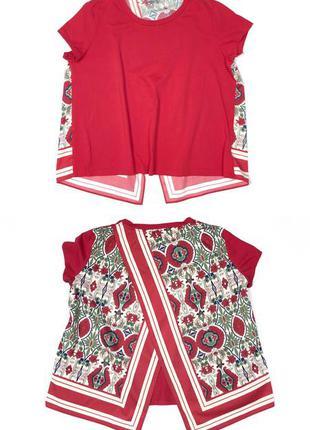 Marcella spot красная футболка флора max mara блуза топ