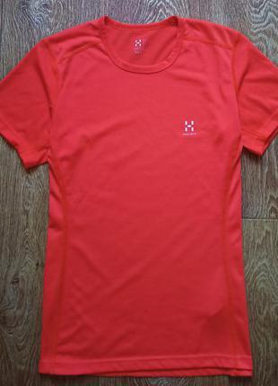 Женская туристическая футболка haglofs
