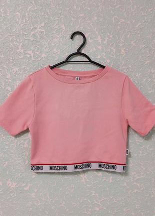 Moschino underwear футболка женская оригинал velmar spa
