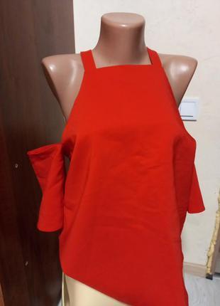 Блуза открытие плечи