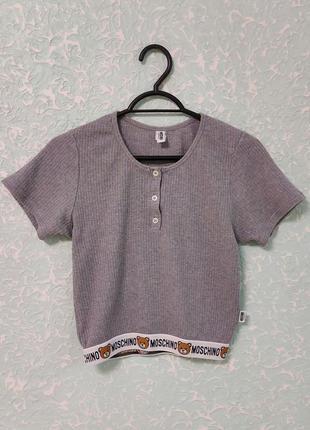 Moschino underwear underbear женская футболка оригинал velmar spa