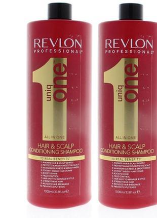 Revlon professional uniq one conditioning shampoo шампунь-кондиционер.