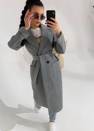 Пальто кашемир, на подкладке✅