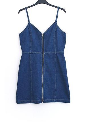 Идеальный джинсовый сарафан boohoo • р-р  10\38 (м)
