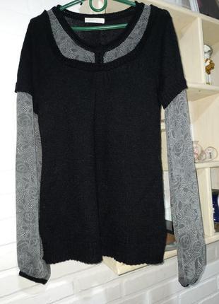 Красивая необычная кофта блуза promod