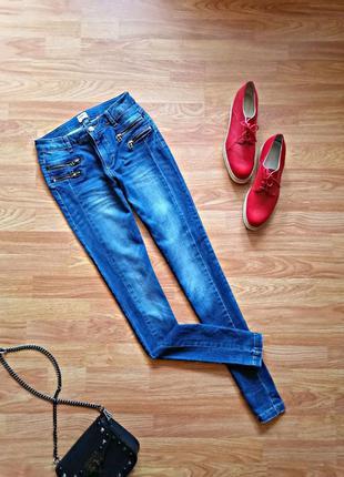 Женские брендовые джинсы - скинни only - размер 40-42