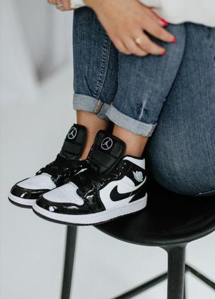 Кросівки nike air jordan 1 mid carbon fiber кроссовки
