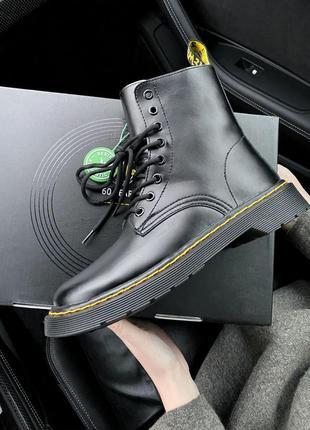 𝐃𝐫.𝐌𝐚𝐫𝐭𝐞𝐧𝐬 1460 classic fur  premium женские кожаные ботинки на меху зима