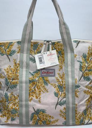 Англия! большая фирменная обьемная сумка в чехле  на плечо cath kidston.