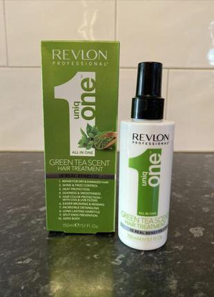 Revlon professional uniq one green tea scent treatment спрей-маска для ухода за волосами.
