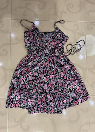 Платье bershka  сарафан пляжное платье