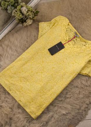 Очень качественная блуза кружевная от m&s рр 18 наш 52