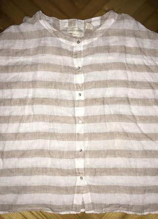 Cynthia rowley-дизайнерская льняная блуза топ оверсайз! р.-xs