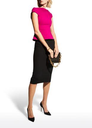 Идеальная шерстяная юбка–  карандаш миди длины rene lezard стиль cos как новая