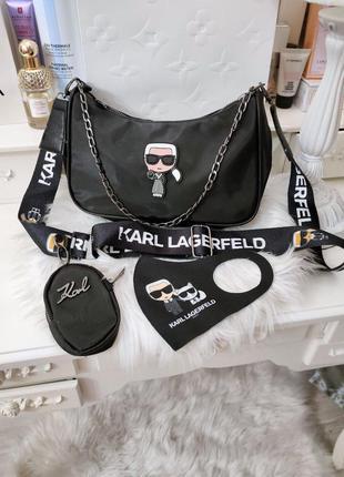 😍💖  🌺😊 💥👍  🎁 сумки  бренд  карл 2в1 люкс качество