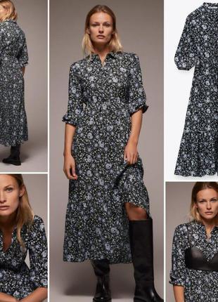 Платье вискоза zara