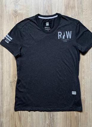 Мужская хлопковая футболка g-star raw