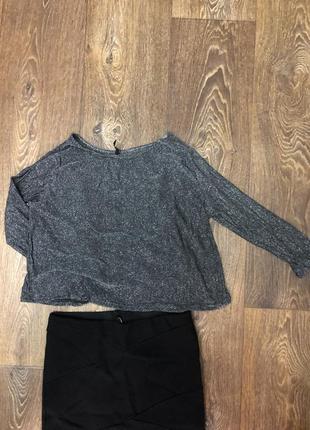 Люрексовая блуза
