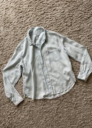 Рубашка зара zara xs