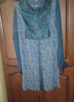 Коттоновая тонюсенькая туника платье