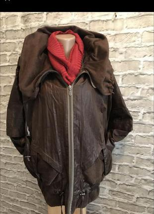 Куртка женская осенняя большой размер