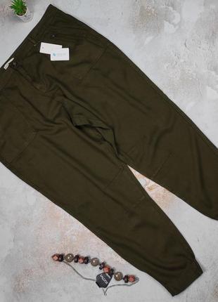 Штаны брюки новые крутые карго большой размер f&f uk 22/50/4xl
