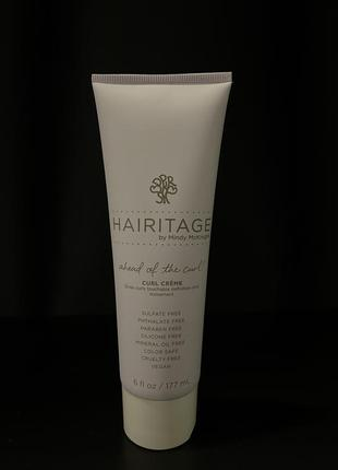 Hairitage для завитка ! крем для волосся сша