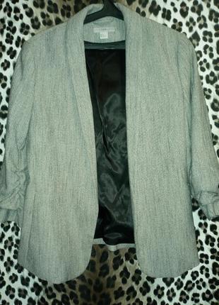 Пиджак стильный h&m