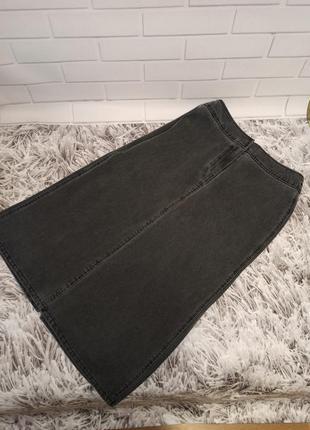 Женская юбка marks&spencer black, женская юбка джинсовая длинная