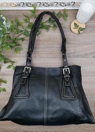 Европа🇪🇺 ferro moda. кожа. классная фирменная сумка на 5 отделений