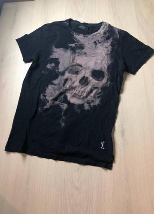 Religion футболка с черепом