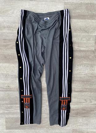 Adidas спортивные штаны оригинал винтажные
