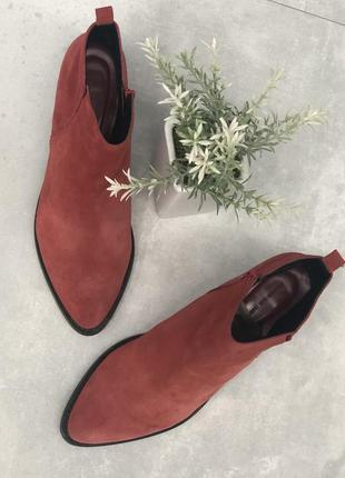 Reserved натуральные ботинки