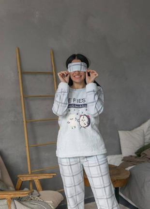 Тепла флісова піжама