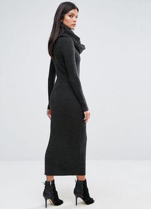 River island studio шерстяное платье гольф водолазка шерсть
