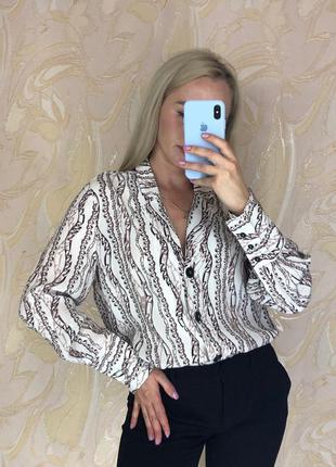Блузка с пояском