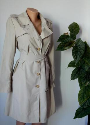 Осенний плащ  48 размер   пальто тренч