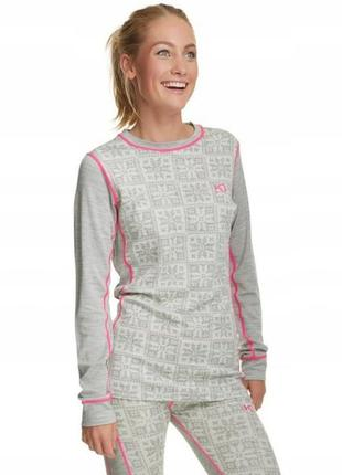 Женское термо  kari traa vrang merino wool