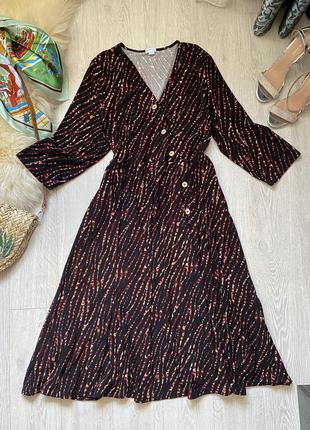 Приятное платье миди 22р от blue vanilla
