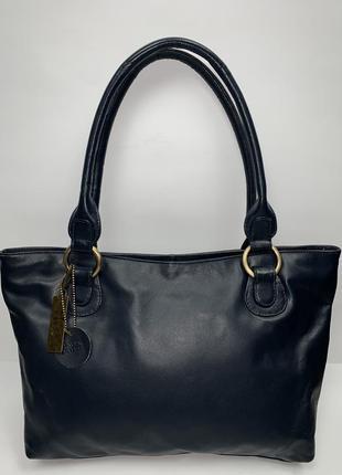 Англия! кожаная фирменная сумочка на плечо mia.