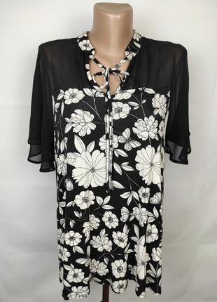 Блуза привлекательная новая в комбинированная tu uk 14/42/l