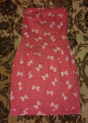 Платье бандо рxs-s