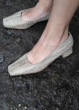 Туфли кожа.