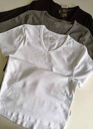 Базовая хлопковая футболка туника livergy