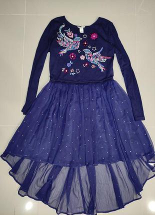 Шикарное платье monsoon 12-13 лет