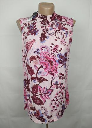 Блуза новая романтичная в принт пейсли next uk 8/36/xs