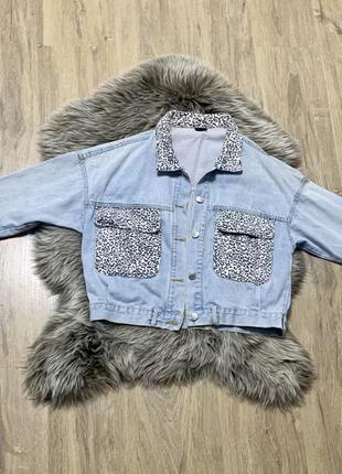 Классная джинсовая кофта