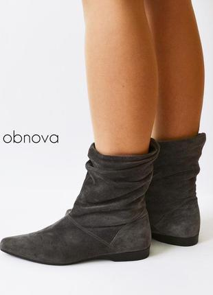 Фирменные замшевые ботинки graceland